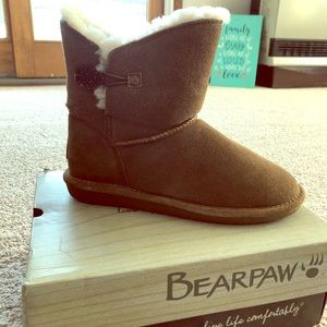 Bear paw booties Size 10